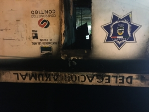 La Policia para justificar sy