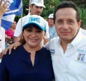 Eugenia Solis por 142 votos fue rebasada por trampas del verde y no impugna José de la Peña