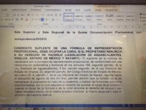 Por esta ley que abre puerta a Eugenia Solis Arcila no impugna 132 votos de diferencia y se va por la tangente