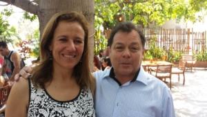 Margarita Zavala suele acudir en QRoo.Sobre todo para apoyar a Carlos Joaquin en las pasadas elecciones.En la foto con Xavier Rosado amigos de los Joaquín Coldwell