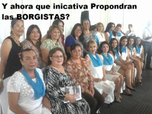 Mujeres periodistas afines a Borge propusieron y avalaron la ley anti periodistas.Graciela Machuca y Ernestina Mc Donalds entre algunas.La corte rechazó esta propuesta borgista pues la CNDH la impugno por inconstitucional.Decenas de reporteros empiezan a negar a Borge