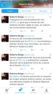 Borge no entiende que no entiende.