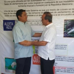 El comandante Adrian Ortega Jiménez nombrado director de protección civl