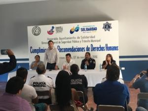 Primer acto de disculpa públicas a Victimas de policías en Solidaridad de la anterior administración