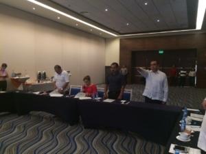 El Fiscal fue nombrado en un hotel de cinco estrellas en Cancún y no en el Recinto Legislativo en Chetumal por protestas ciudadanas contra el blindaje